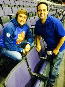 Hall of Famer Teemu Selanne at the 2016 World Cup of Hockey