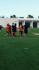 Baltimore Orioles training camp