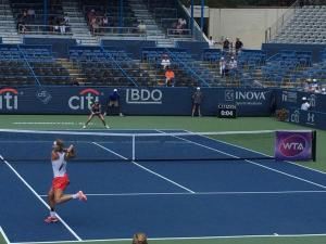 Citi Open Action shot