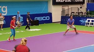 Mixed Doubles Chris Marks and Martina Hingis